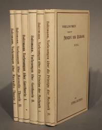 Vorlesungen über Gastheorie / Vorlesungen über die Principe der Mechanik / Vorlesungen über Maxwells Theorie der Elektricität und des Lichtes