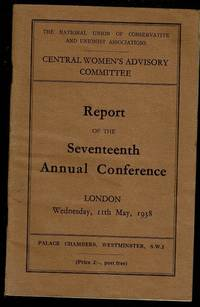 image of Central Women's Advisory Committee Report of the Seventeenth Annual Conference