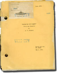 While the City Sleeps (Original screenplay for the 1928 film)