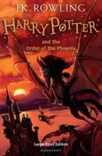 image of Harry Potter and the Order of the Phoenix (Book 5) [Large Print]