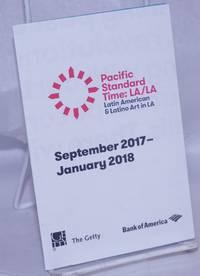 image of Pacific Standard Time: LA/LA; Latin American_Latino Art in LA [brochure/map] September 2017-January 2018