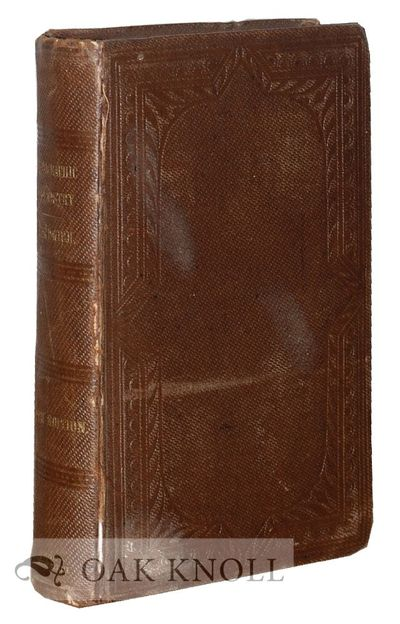 London: John Churchill, 1859. stamped cloth, with gilt lettering on spine. 8vo. stamped cloth, with ...