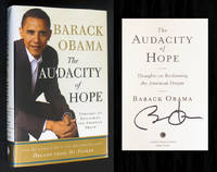 image of The Audacity of Hope (Signed by President Obama in Chicago)