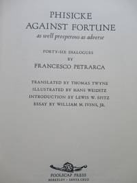image of PHISCKE AGAINST FORTUNE, AS WELL PROSPEROUS AS ADVERSE