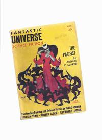 Fantastic Universe ( Digest SF Pulp ) Magazine, October 1956, Volume 6, # 3 ( Pacifist; Way of Life; First Law; Matter of Culture; She Only Goes Out at Night; Messenger; Where Hesperus Falls; Poor Little Saturday; Daedulus Was Not Myth) (Science fiction)
