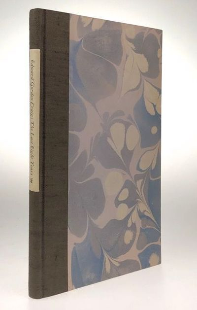 Gloucestershire: The Whittington Press, 1983. First edition. First edition. Original marbled paper, ...