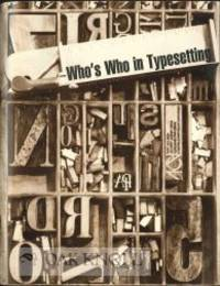 WHO'S WHO IN TYPESETTING