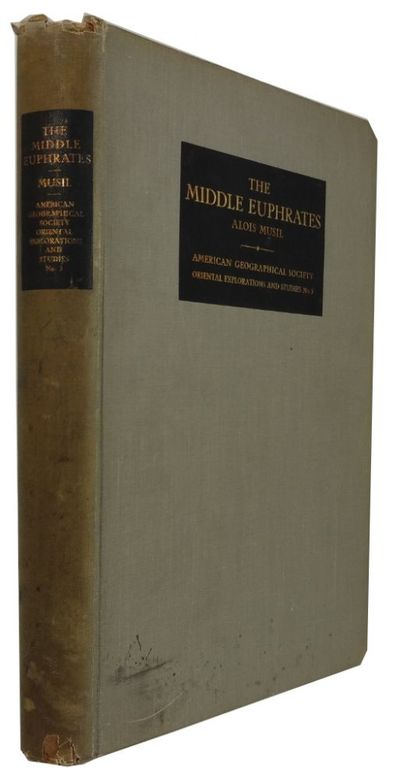 New York: American Geographical Society, 1927. 1st ed. Hardcover. Good. frontis, photos, index, 2 fo...