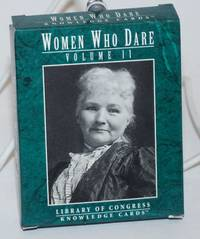 image of Women who dare, Volume II. Library of Congress Knowledge Cards