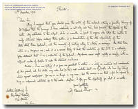 [Autograph Letter, Signed, Correcting a Press Article in 'The Lady's Pictorial']