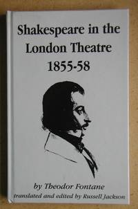 Shakespeare in the London Theatre 1855-58.