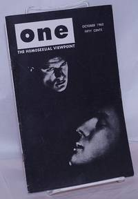 image of One Magazine; the homosexual viewpoint; vol. 10, #10, October 1962