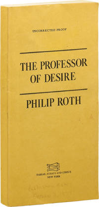 image of The Professor of Desire (Uncorrected Proof)