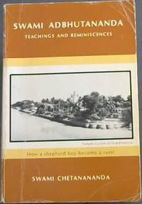 image of Swami Adbhutananda : teachings and Reminiscences (How a Shepherd Boy Became a Saint)