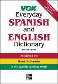 image of Vox Everyday Spanish and English Dictionary: English-Spanish/Spanish-English (VOX Dictionary Series)