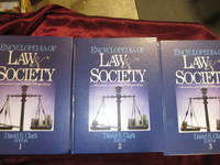 Encyclopedia of Law and Society American and Global Perspectives