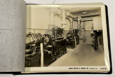 Swissvale, PA: Union Switch & Signal Co, (n. d.). Ca mid-1930s. All housed in a commercial limp blac...