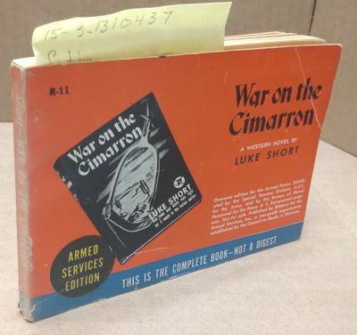New York: Editions for the Armed Services, 1940. Softcover. 18mo; G; Paperback; Spine, red with whit...
