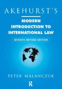 image of Akehurst's Modern Introduction to International Law