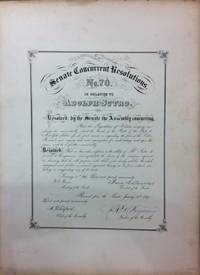 Senate Concurrent Resolutions No. 70. in Relation to Adolph Sutro.