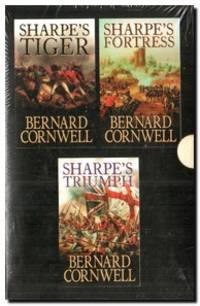 Bernard Cornwell Sharpe Box Set  Sharpe's Triumph / Sharpe's Tiger /  Sharpe's Fortress