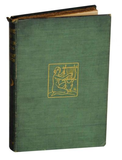 London: Methuen & Co, 1901. First edition. Hardcover. 105 pages. A very good plus copy in green clot...
