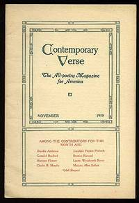 Contemporary Verse: November 1919