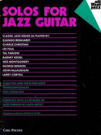 Solos for Jazz Guitar (All That Jazz)
