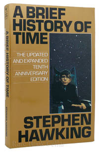 A BRIEF HISTORY OF TIME by Stephen Hawking - Paperback - 10th Anniversary Edition; Fourth Printing - 1996 - from Rare Book Cellar (SKU: 87935)