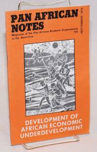 Pan African notes: magazine of the Pan African Students Organization in the Americas. Volume 2, Number 2 (September 1972)