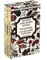 image of Favorite Jane Austen Novels (Dover Thrift Editions)