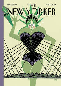 image of NEW YORKER STYLE ISSUE. COVER YEARNING to BREATHE FREE by MICHAEL ROBERTS
