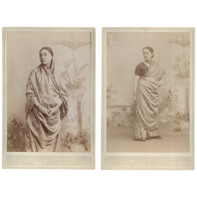 Two Portraits of Dr. Pauline Root...