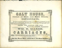 image of American Commercial Advertising - Galt House and Wm. E. Marsh Carriages