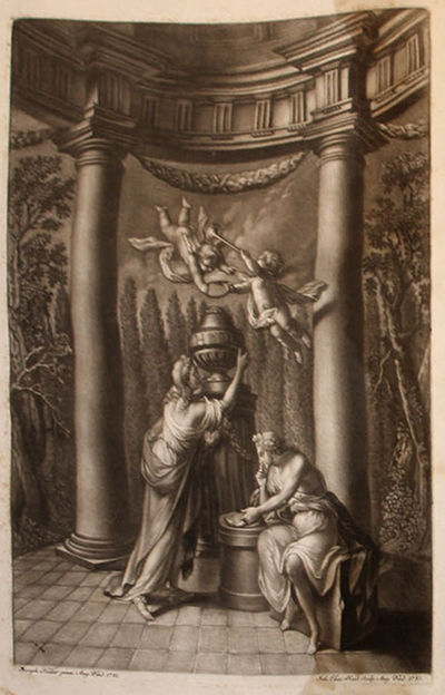 Augsburg: Jean Jaques Haid et Fils, 1782. Hardcover. Very Good. Folio . engraved frontispiece, engra...