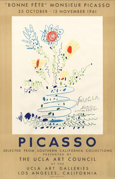 Bonne fête, Monsieur Picasso. Poster...