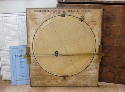 A rare lunar distance planisphere for...