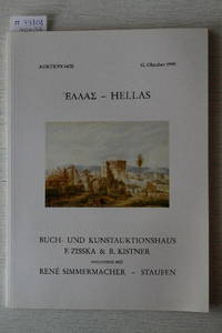 Auktion 34/II, 30. Oktober 1999 : Hellas. by  RENE- MÜNCHEN  R / SIMMERMACHER - from Frits Knuf Antiquarian Books (SKU: 79808)