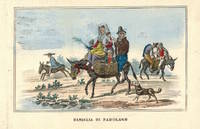 'Famiglia di Padulano' Family on donkey with baskets