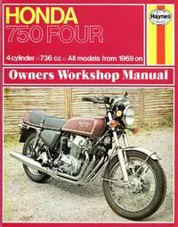 image of Honda 750 Four Owners Workshop Manual
