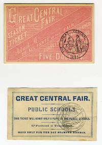 Attending the Philadelphia Sanitary Fair in the Summer of 1864