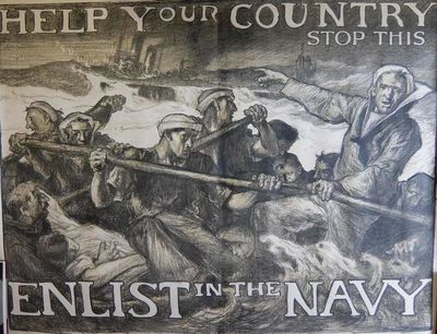 New York: American Lithographic Company, 1918. unbound. very good(+). Poster. Lithograph mounted on ...