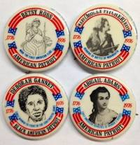 image of [Set of four pins celebrating women in the American Revolution]