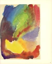 Hans Hartung: Aquarelle 1922. (Übers.. ins Französische von  Arlette Frieden, ins Englische von James Emmons).