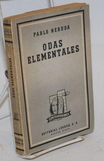 Buenos Aires: Editorial Losada, 1958. Paperback. 225p., text in Spanish, toning to text-block margin...