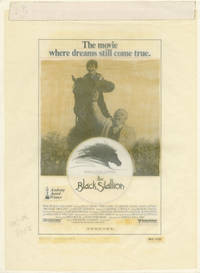 The Black Stallion (Original advertising mockup from the 1978 film)