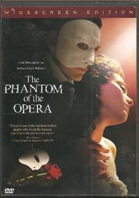 The Phantom of the Opera Widescreen Edition DVD by Joel Schumacher [Writer]; Andrew Lloyd Webber [Producer]; Andrew Lloyd Webber [Writer]; Austin Shaw [Producer]; Paul Hitchcock [Producer]; Ralph Kamp [Producer]; Jeff Abberley [Producer]; Julia Blackman [Producer]; Keith Cousins [Producer]; - 2005-01-01 2015-01-23 - from Chili Fiesta Books (SKU: 150123019)