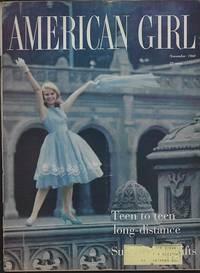 AMERICAN GIRL MAGAZINE NOVEMBER 1960