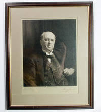 Original silver bromide photograph of John Singer Sargent's celebrated portrait of Henry James, 10 1/2 x 13 inches (image), 15 x 18 3/4 inches (image & mount), signed on the mount by both James and Sargent