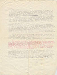 ARCHIVE OF LETTERS AND A PHOTOGRAPH, A TOTAL OF 15 PIECES, TO THE MOTHER OF ETHEL KENNEDY